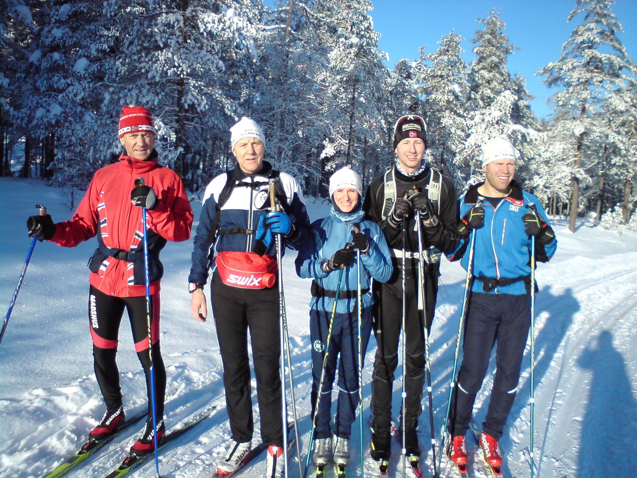 Langtur fra Kjennerudvannet søndag 23. januar